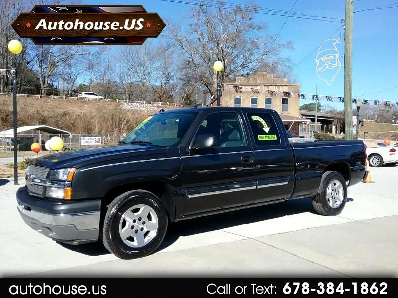 2005 Chevrolet Silverado 1500 LT Extend Cab 2WD Leather