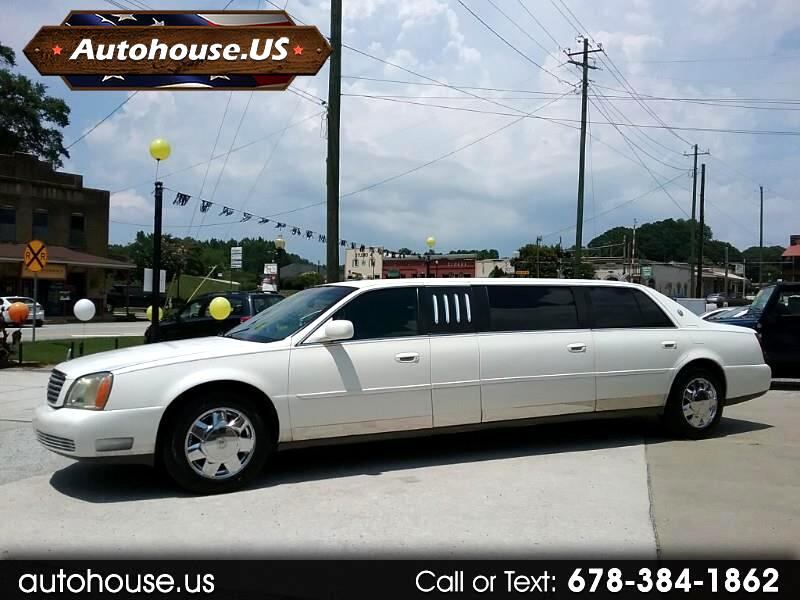 2000 Cadillac DEVILLE Limo