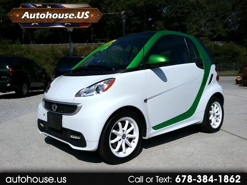 smart Fortwo electric coupe 2015