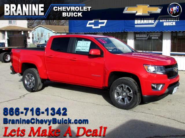 2018 Chevrolet Colorado Z71 Crew Cab 4WD Short Box