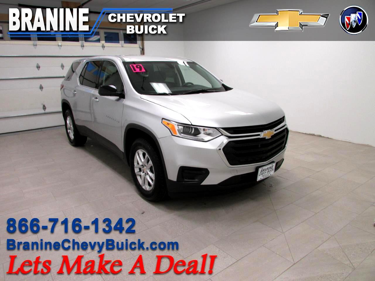 2019 Chevrolet Traverse FWD 4dr LS w/1LS