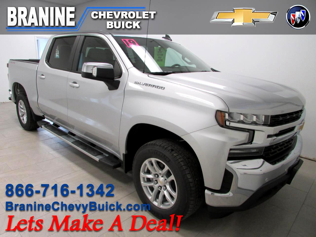Used Cars For Sale Osage City Ks 66523 Branine Chevrolet Buick 1953 Ford Crew Cab 2019 Silverado 1500 4wd 147 Lt