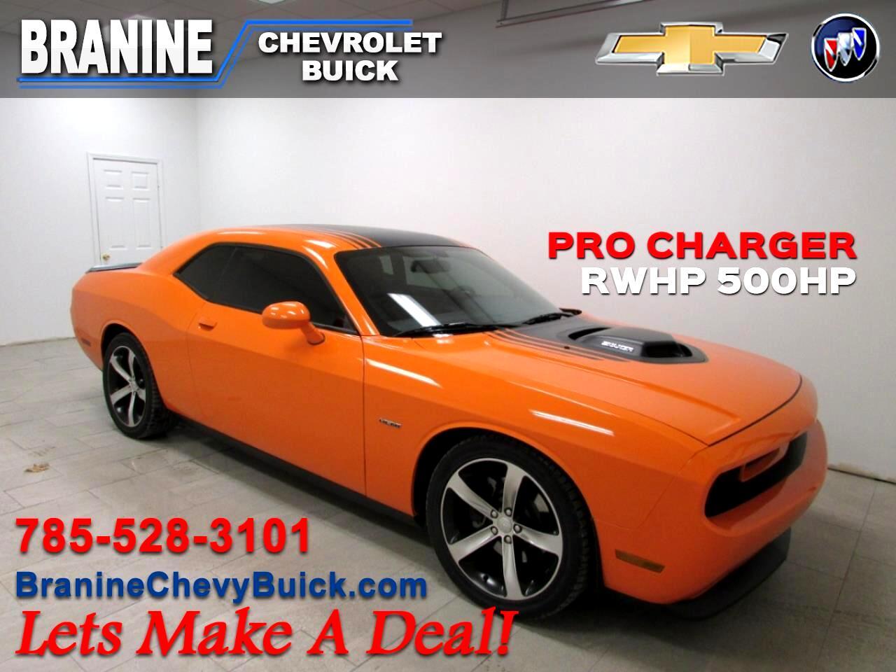 2014 Dodge Challenger 2dr Cpe Shaker Pkg
