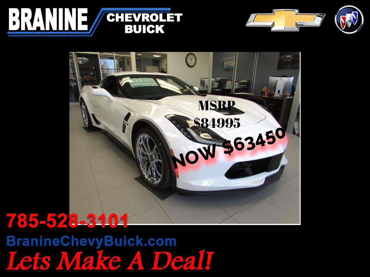 2017 Chevrolet Corvette 2dr Grand Sport Cpe w/2LT