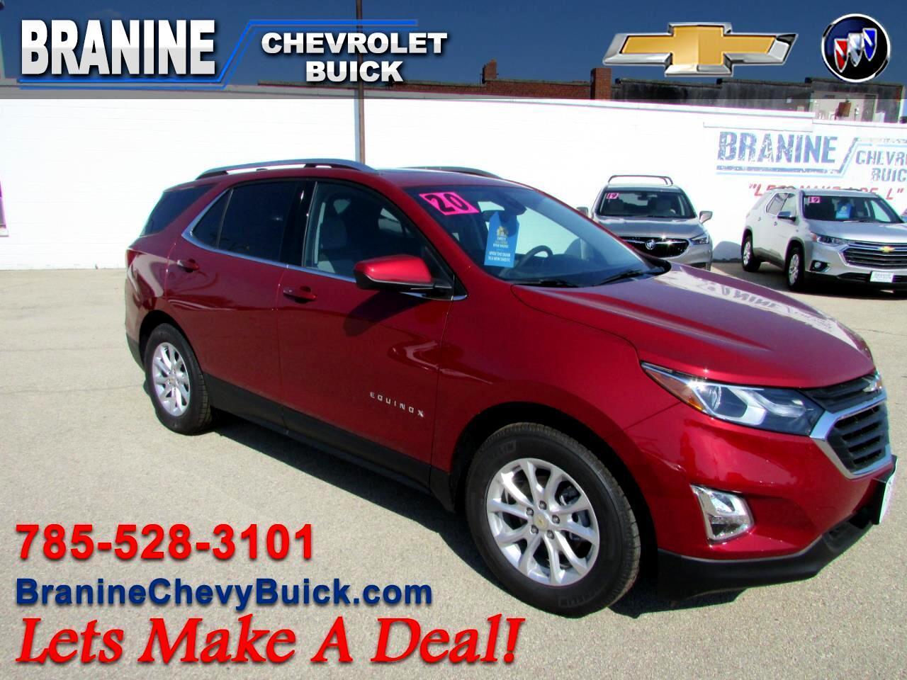 2020 Chevrolet Equinox FWD 4dr LT w/1LT