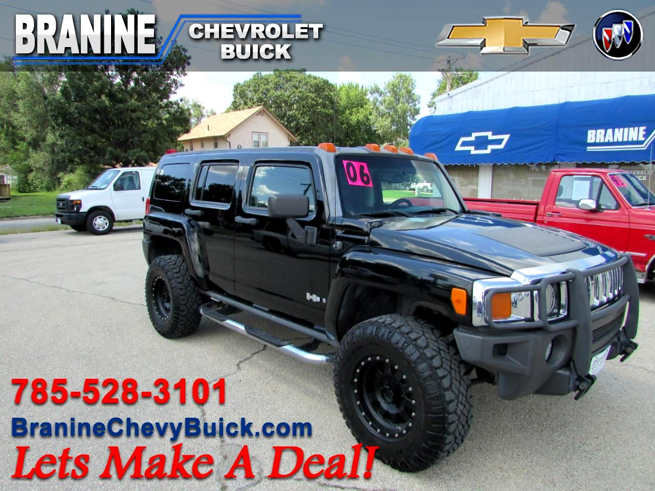2006 HUMMER H3 4WD 4dr SUV Luxury