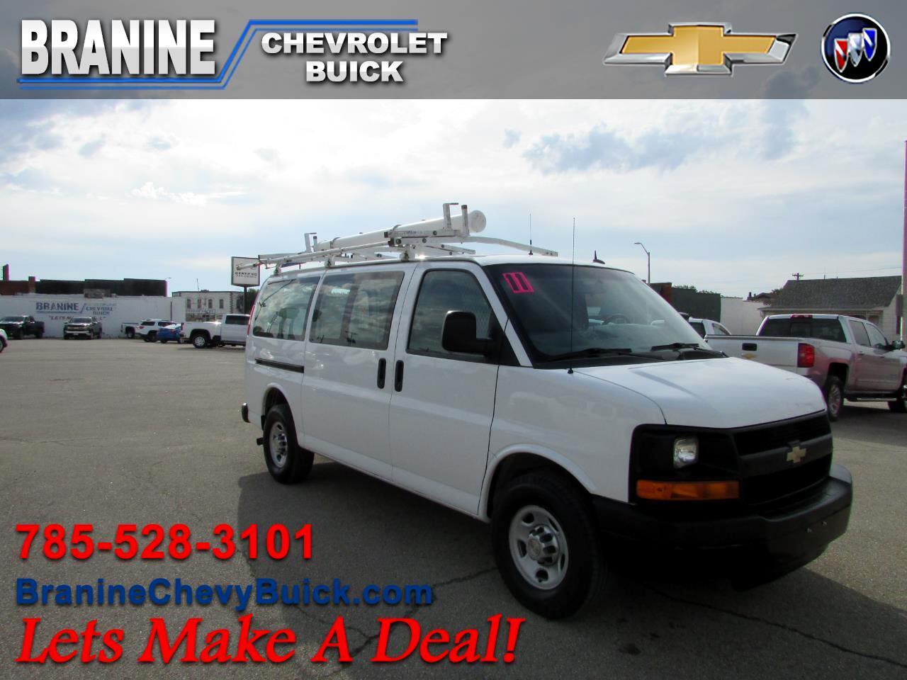"""2011 Chevrolet Express Cargo Van RWD 3500 135"""""""