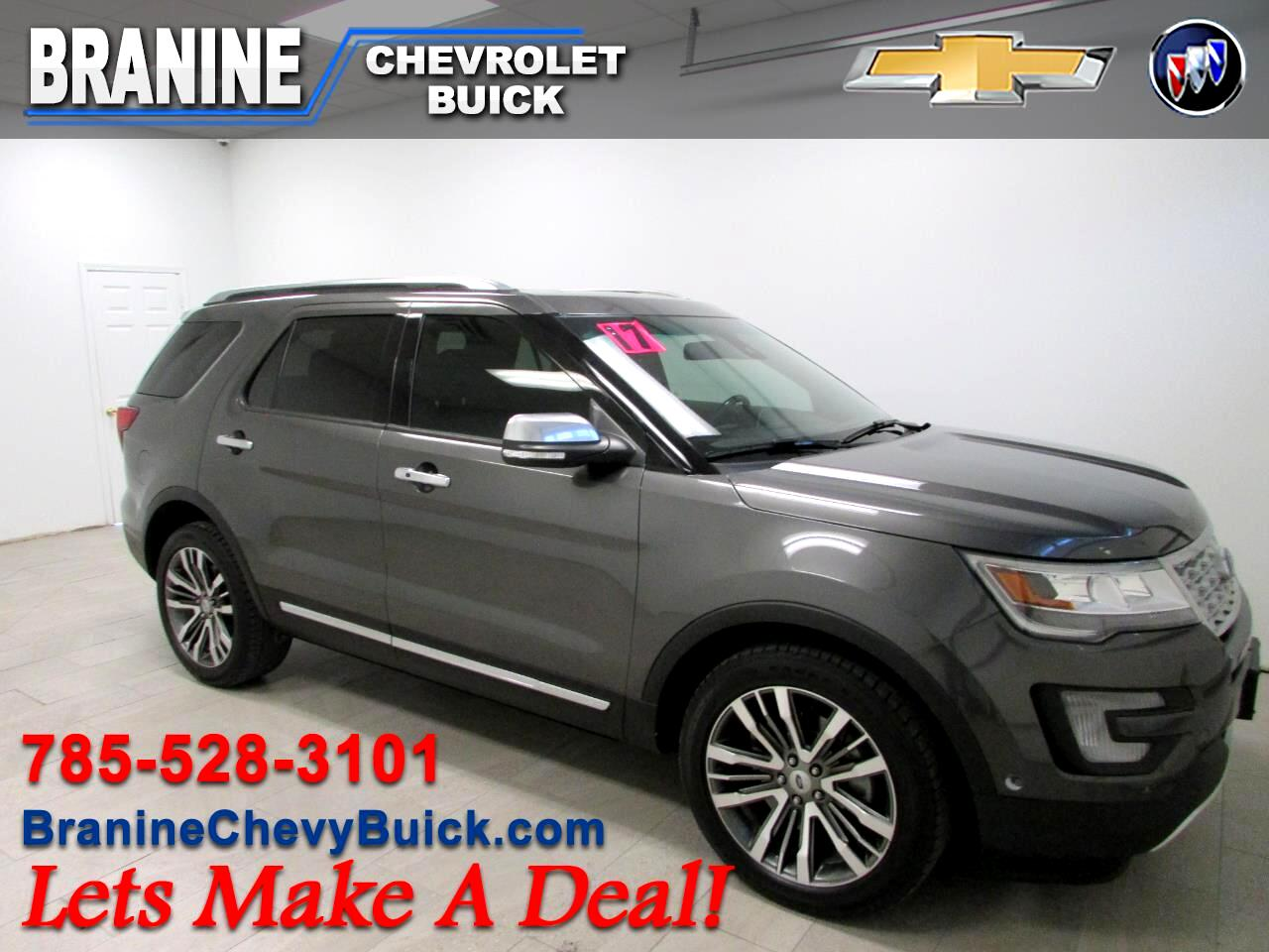 Ford Explorer Platinum 4WD 2017