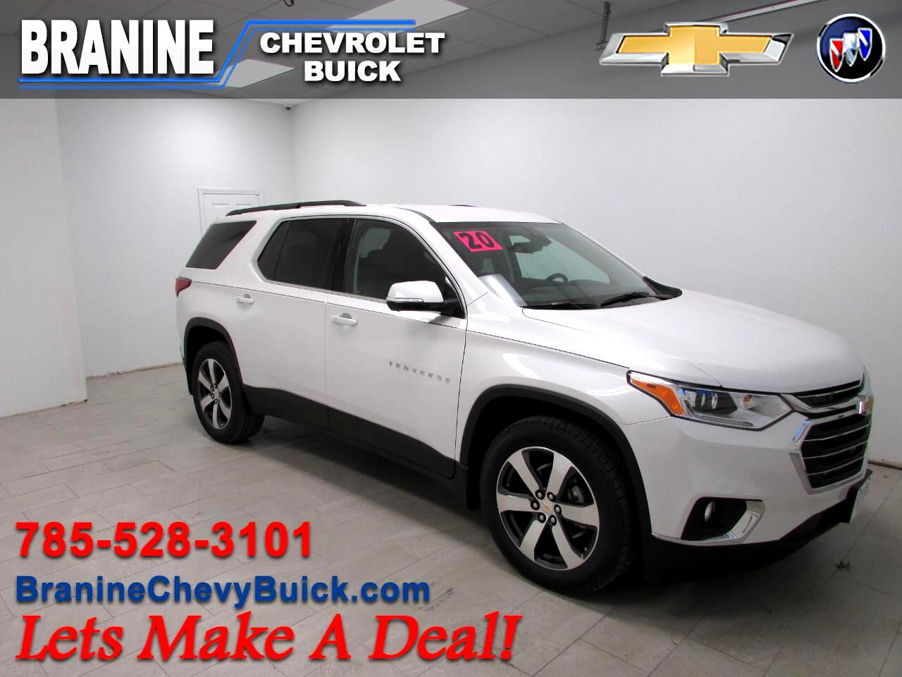 Chevrolet Traverse AWD 4dr LT Leather 2020