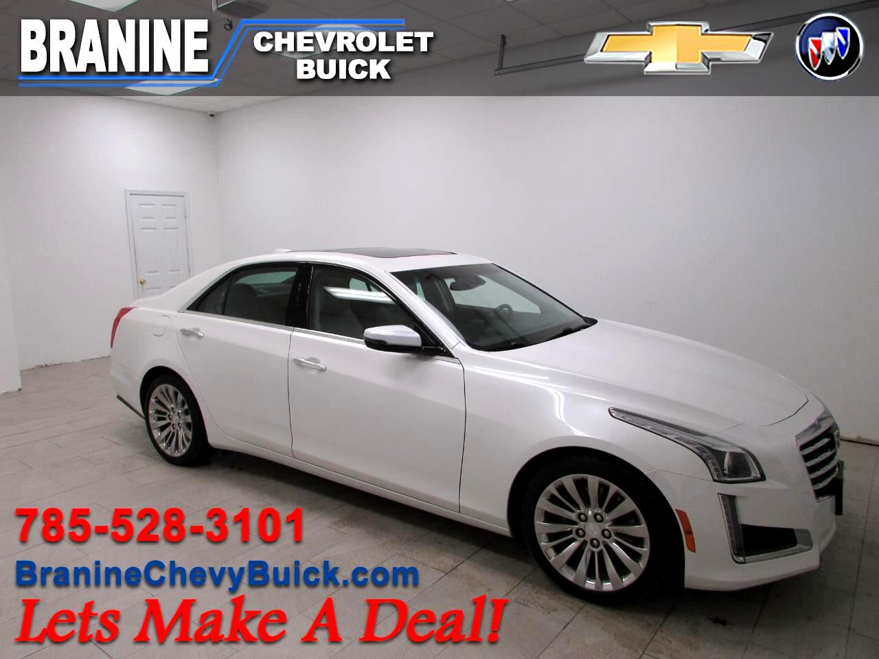 Cadillac CTS Sedan 4dr Sdn 3.6L Luxury RWD 2017