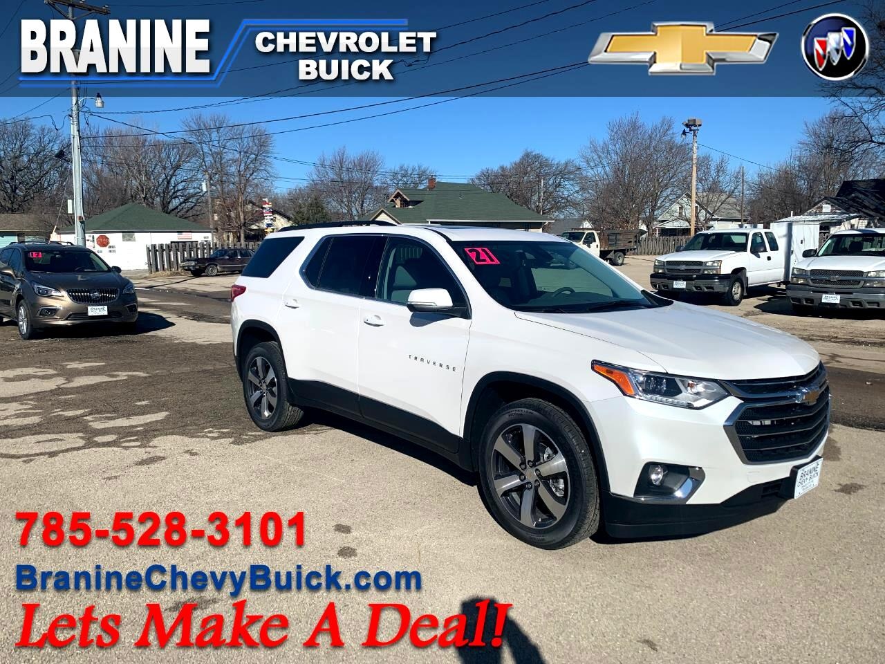 Chevrolet Traverse AWD 4dr LT Leather 2021