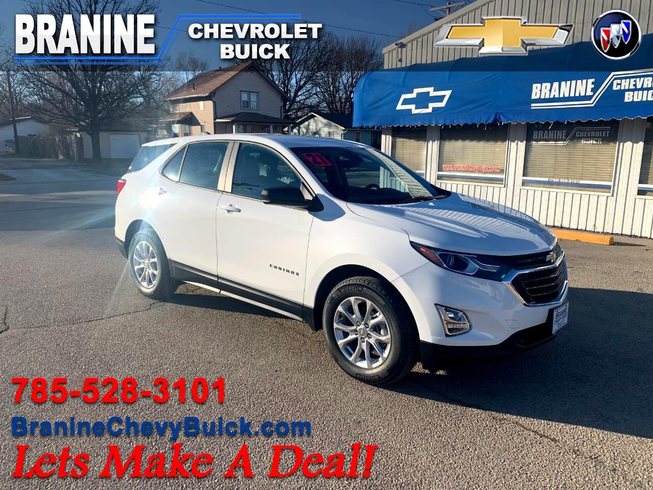 Chevrolet Equinox FWD 4dr LS w/1LS 2021