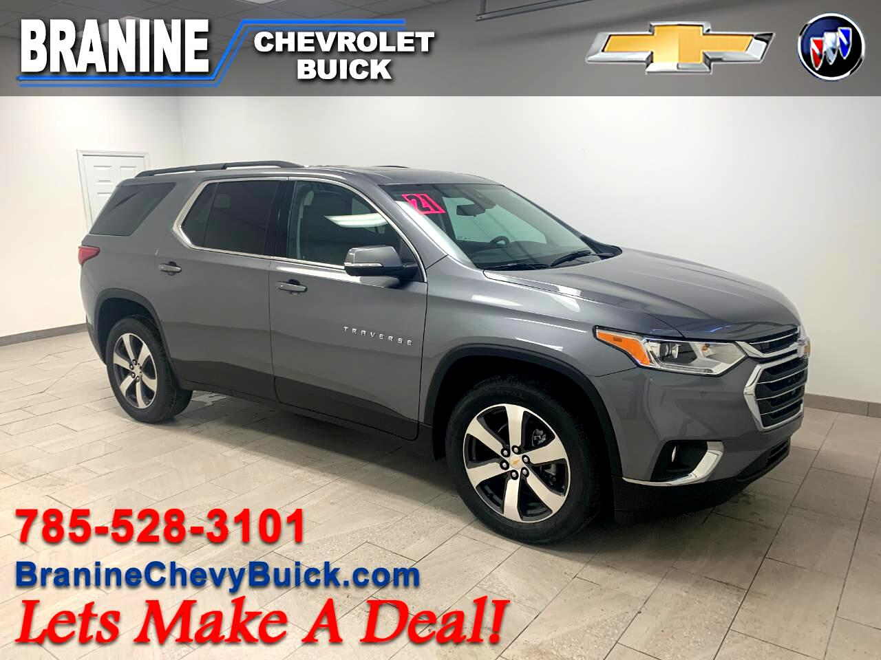 Chevrolet Traverse FWD 4dr LT Leather w/3LT 2021