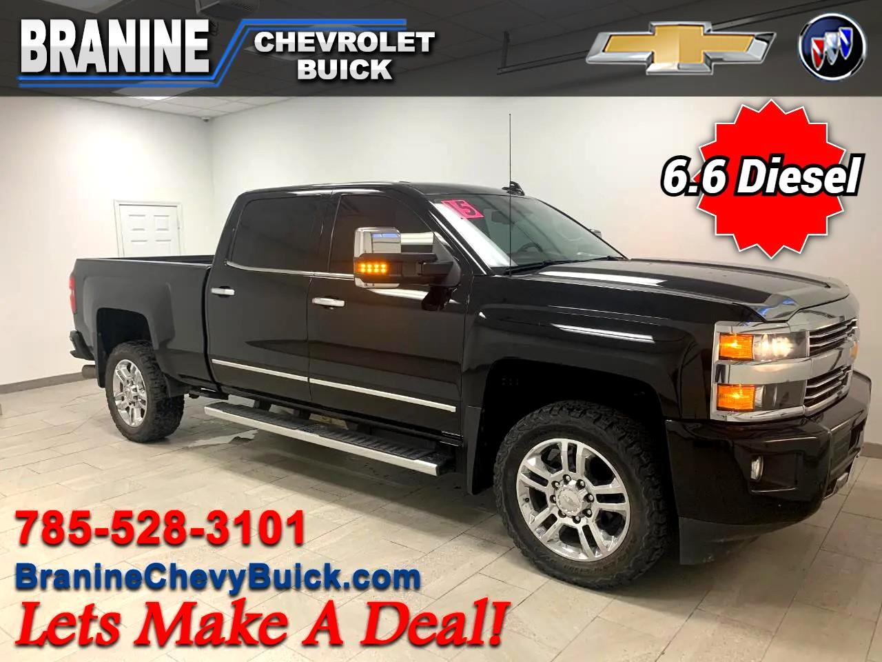 "Chevrolet Silverado 2500HD Built After Aug 14 4WD Crew Cab 153.7"" High Country 2015"