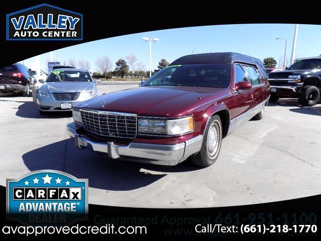 1996 Cadillac DeVille Custom Hearse