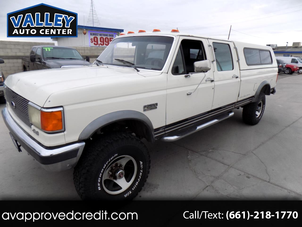 1991 Ford F-350 Crew Cab 4WD