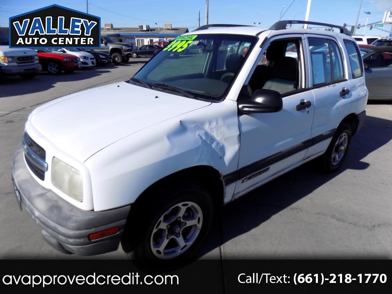 Chevrolet Tracker 4-Door 4WD 2000