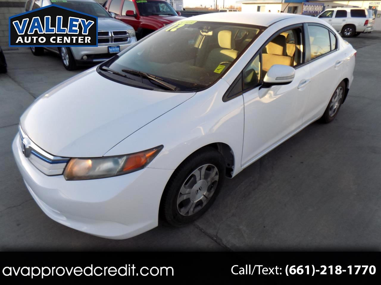 Honda Civic Hybrid CVT AT-PZEV with Navigation 2012