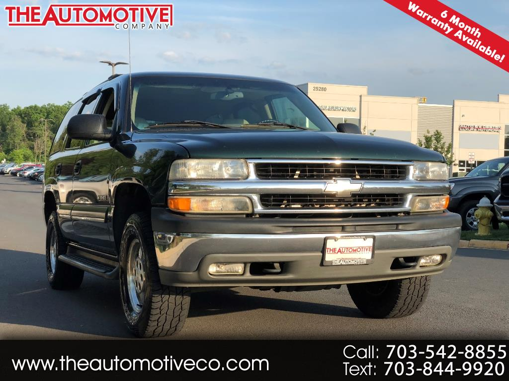 2001 Chevrolet Tahoe 2WD 4dr 1500 LS
