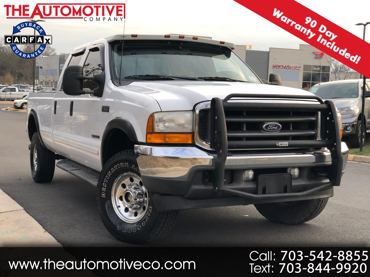 "2001 Ford Super Duty F-350 SRW Crew Cab 172"" XLT"