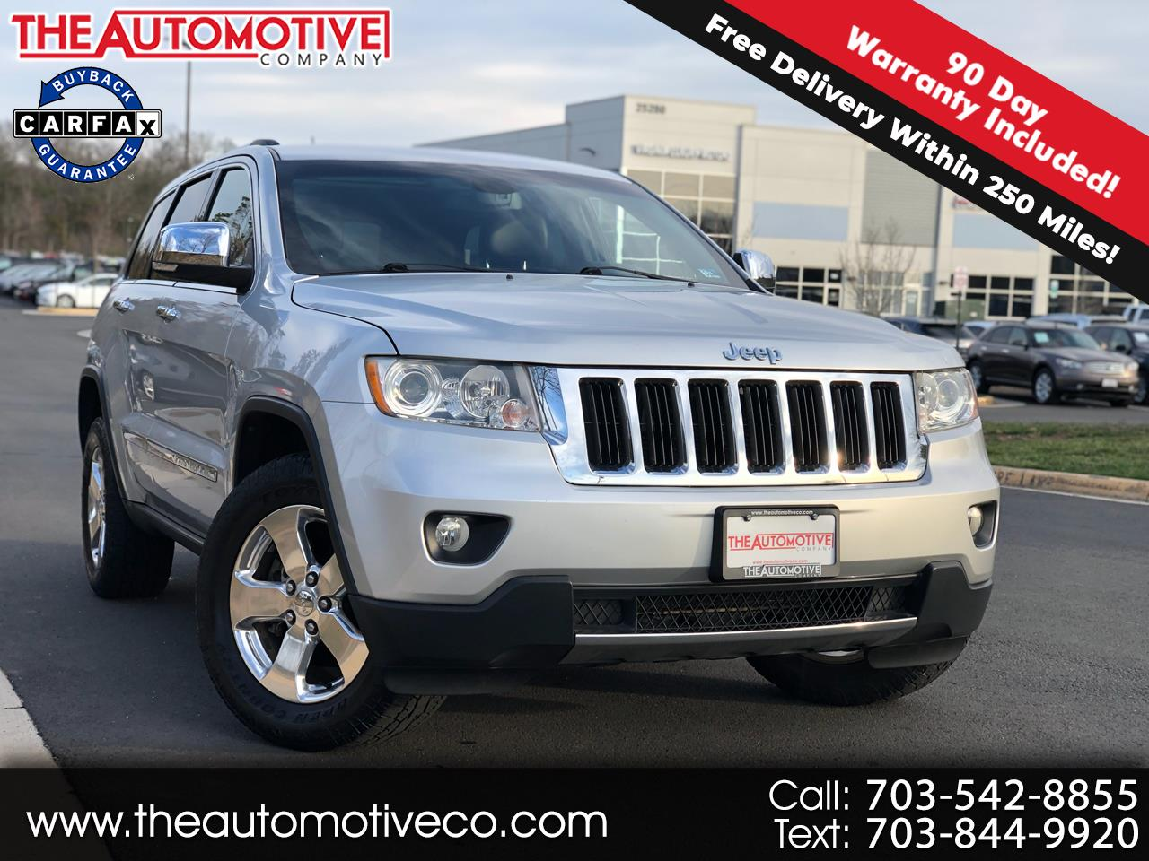 2012 Jeep Grand Cherokee 4WD 4dr Limited