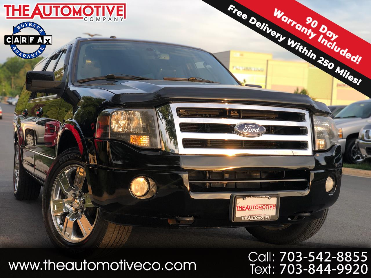 2009 Ford Expedition EL 4WD 4dr Limited