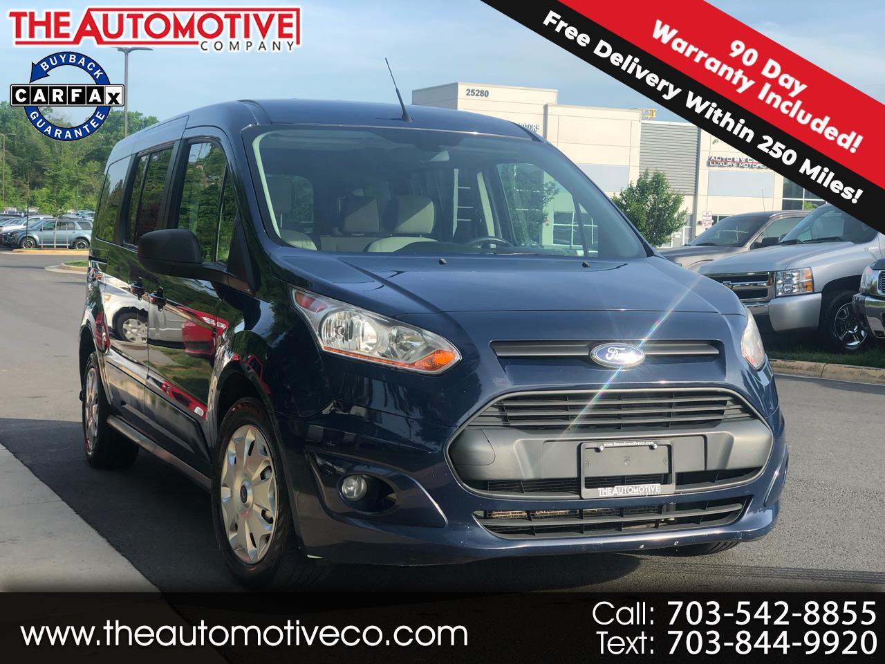 2014 Ford Transit Connect Wagon 4dr Wgn LWB XLT