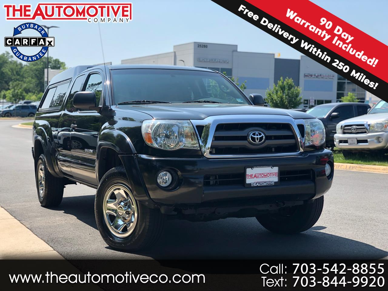 2009 Toyota Tacoma 4WD Access Cab V6 AT (Natl)