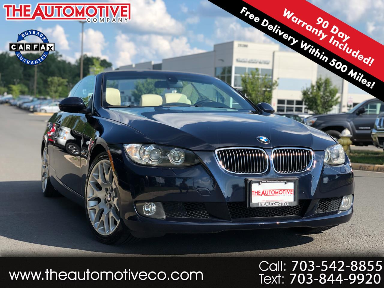 2008 BMW 3 Series 2dr Conv 328i