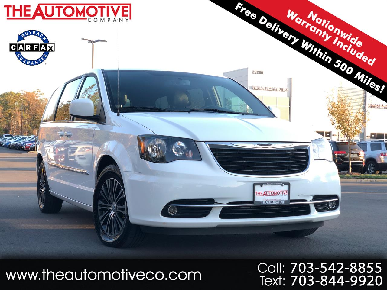 Chrysler Town & Country 4dr Wgn S 2014