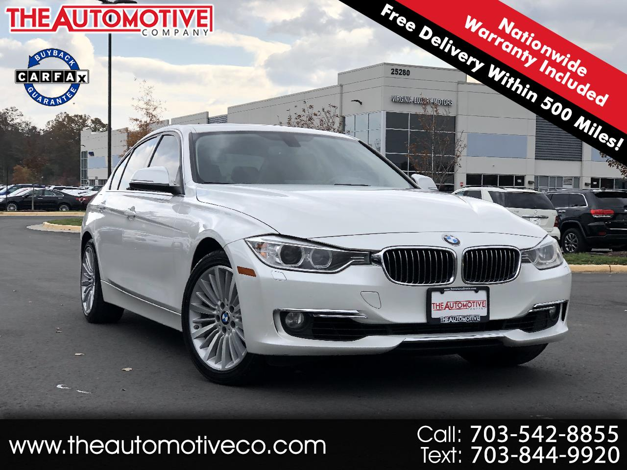 BMW 3 Series 4dr Sdn 335i xDrive AWD 2013