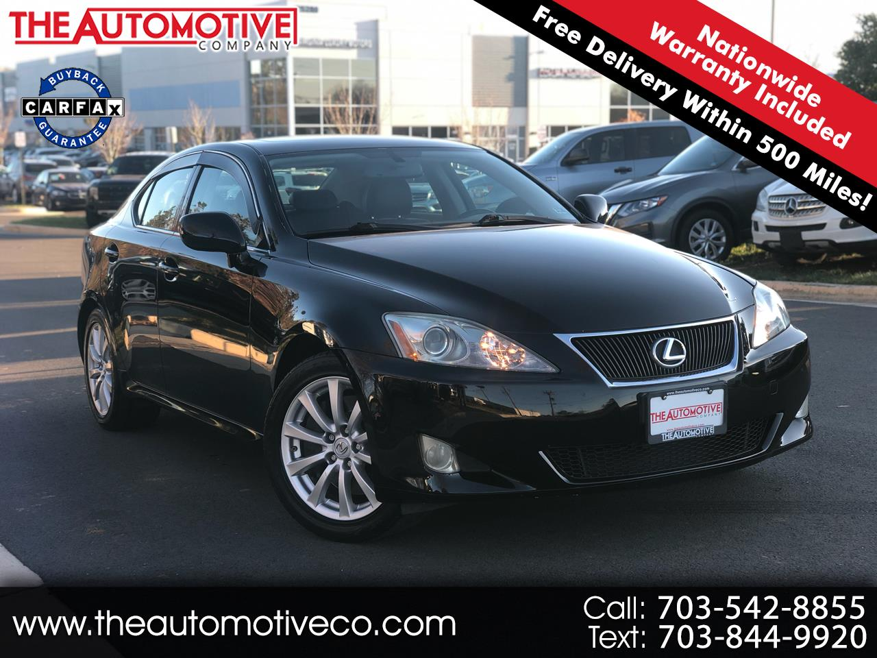 Lexus IS 350 4dr Sport Sdn Auto 2007