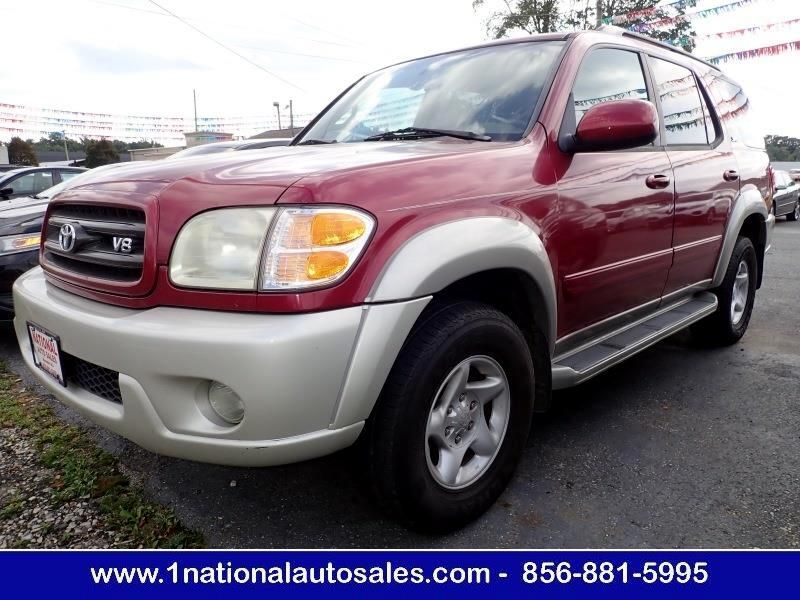 2002 Toyota Sequoia SR5 4WD 4dr SUV