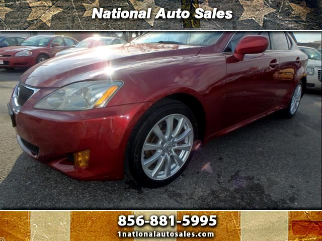 2007 Lexus IS AWD 4dr Sedan (2.5L V6 6A)