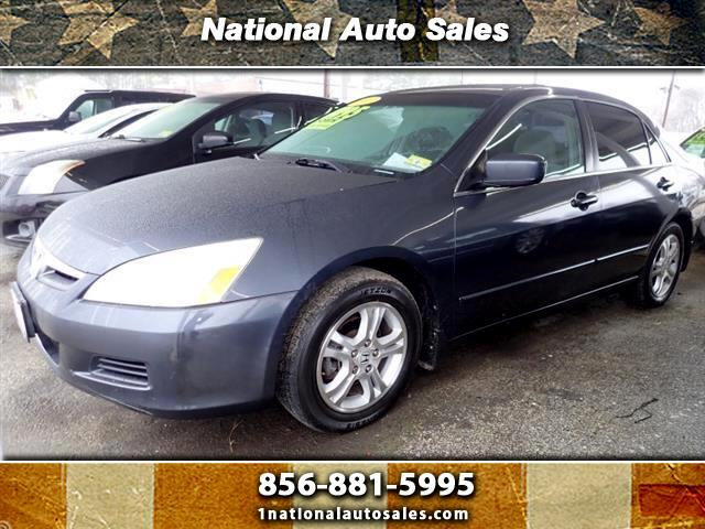2007 Honda Accord EX 4dr Sedan (2.4L I4 5A)