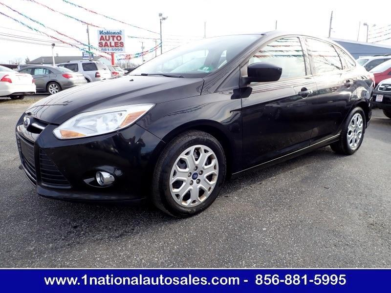 2012 Ford Focus SE 4dr Sedan