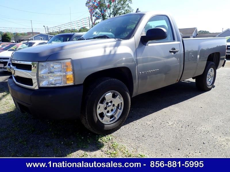 2008 Chevrolet Silverado 1500 2WD Work Truck 2dr Regular Cab 8 ft. LB
