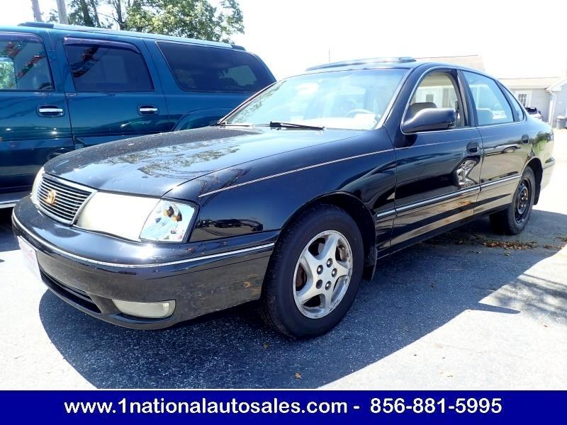used 1998 toyota avalon xls 4dr sedan for sale in glassboro nj 08028 national auto sales national auto sales