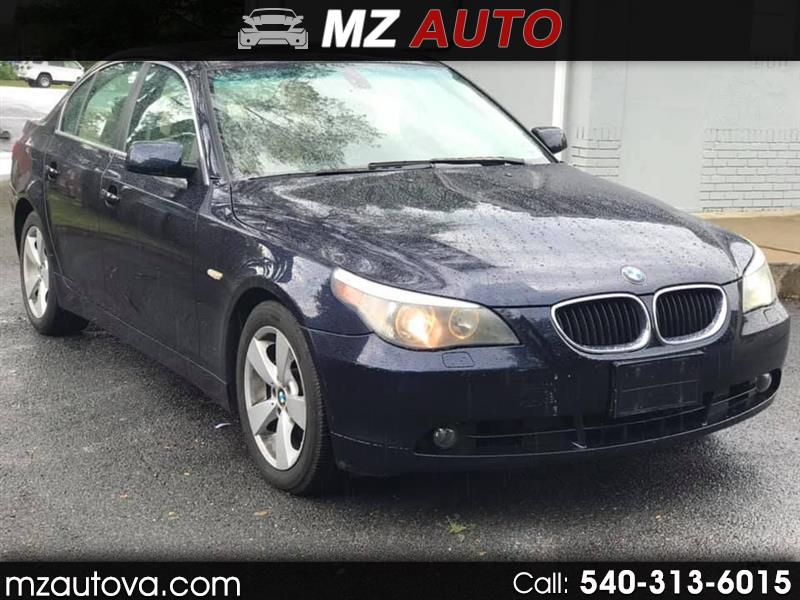 2006 BMW 5-Series XI