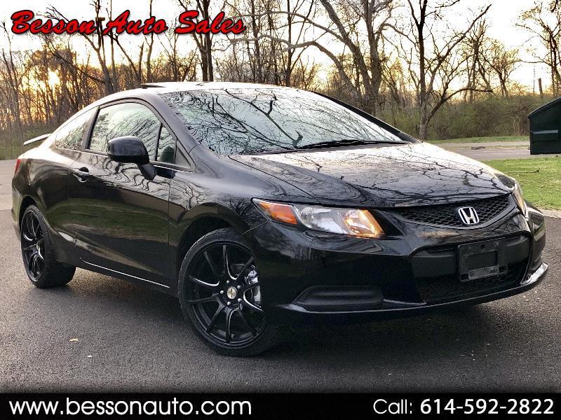 2012 Honda Civic Coupe 2dr CVT EX