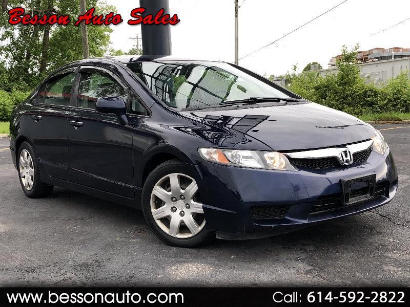 2009 Honda Civic Sedan 4dr CVT LX