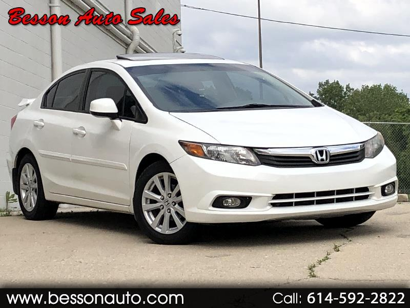 2012 Honda Civic Sedan 4dr CVT EX-L w/Navi
