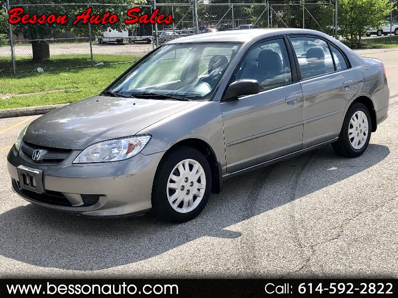 2005 Honda Civic 4dr Sdn LX Auto