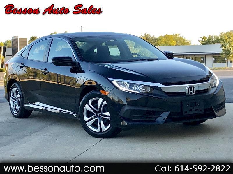 2016 Honda Civic 4dr Sdn LX Auto