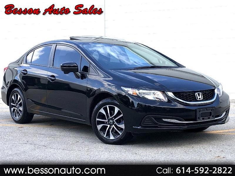 Honda Civic EX sedan 2015