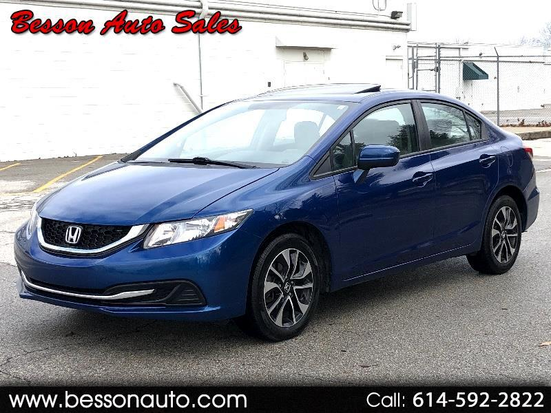 Honda Civic EX Sedan with Front Side Airbags 2015