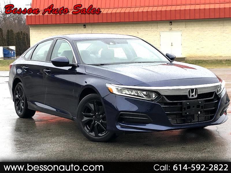 Honda Accord LX Sedan CVT w/ Honda Sensing 2018
