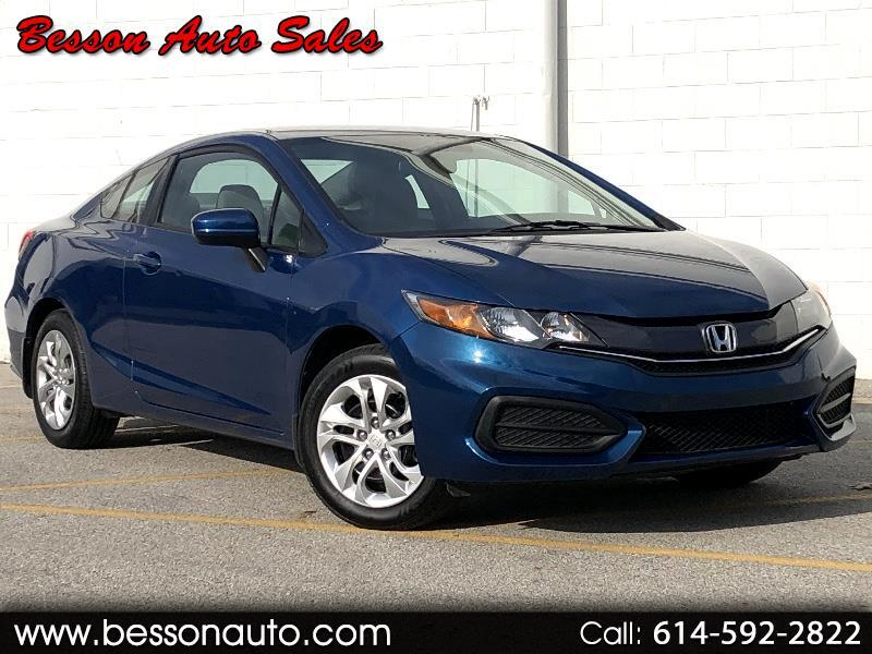 Honda Civic LX Coupe with Front Side Airbags 2014