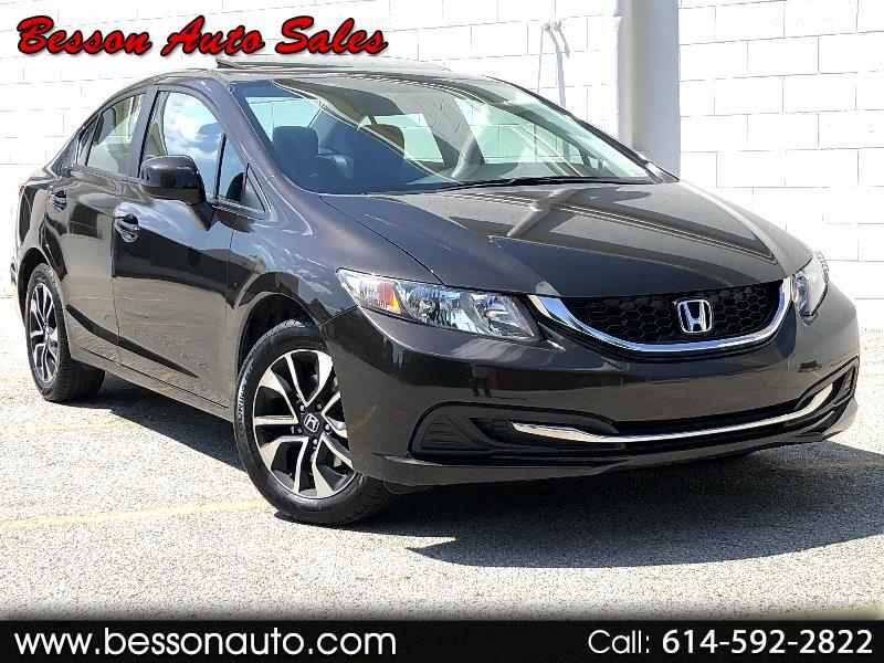Honda Civic EX 4D Sedan 2013