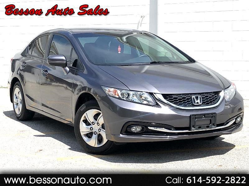 Honda Civic 4dr Sdn LX Auto 2015